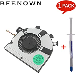 Bfenown Replacement CPU Cooling Fan for Toshiba Satellite E45 E45T E45t-A4200 E45T-A4300 U40t U40T-AT01S Series, Compatible Part Number DC28000DTA0 K000150240
