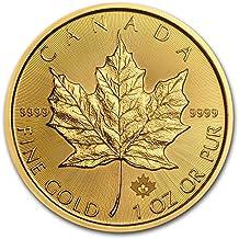 2018 CA Canada 1 oz Gold Maple Leaf Coin BU 1 OZ Brilliant Uncirculated