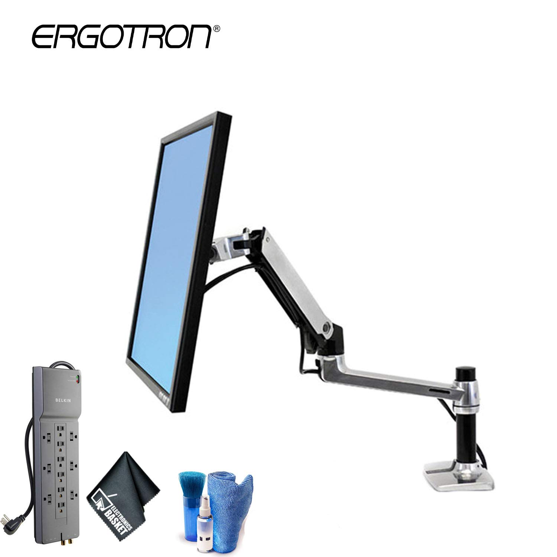 Exceptionnel Amazon.com : Ergotron LX Desk Mount LCD Arm   Computer Monitor Mount    Starter Bundle : Office Products
