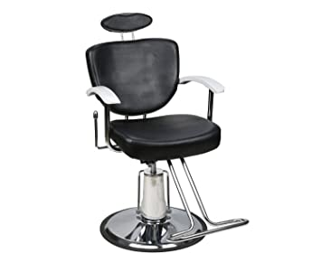 Amazon.com: BarberPub Classic Hydraulic Barber Chair Salon Styling ...