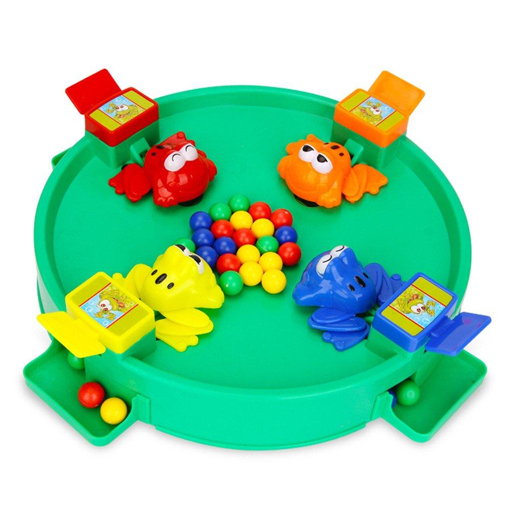 Wanrane Frog Eat BeanToy,Novelties Toys Crazy Frog Eat Beans Toys Kid Educatinal Toys