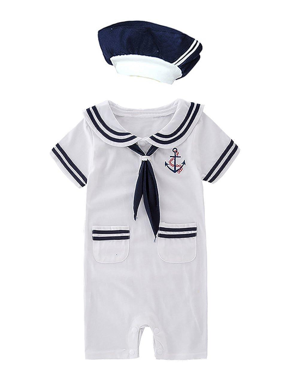 100%安い XM Romper Nyan Mayの赤ちゃん幼児用男の子Sailor Stripe Romper 6 MarineネイビーロンパースワンジーOutfit B07D7T1T59 ホワイトB 3 XM - 6 Months 3 - 6 Months|ホワイトB, コンクリート(魂琥李斗):05389283 --- martinemoeykens-com.access.secure-ssl-servers.info