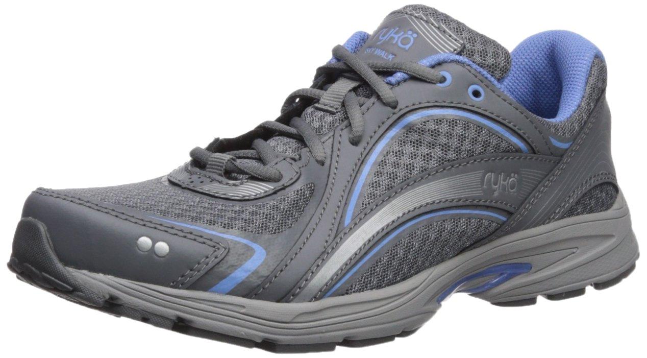 Ryka Women's Sky Walking Shoe B07577XRX3 11 W US|Slate Grey/Chrome Silver/Robin Blue