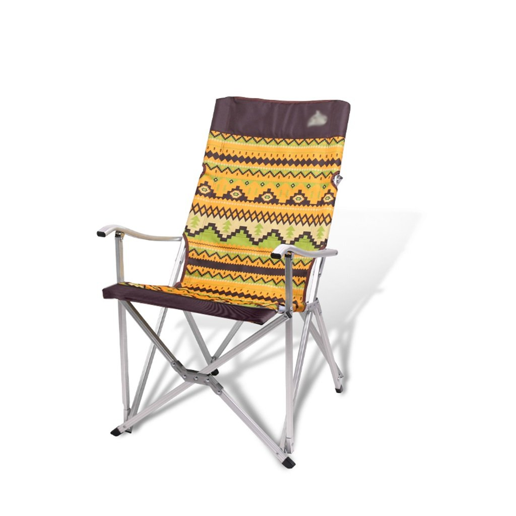 Meng wei shop Klappstuhl im Freien | tragbarer Armlehnstuhl aus Aluminium | Angeln skizzieren Lager Klappstuhl