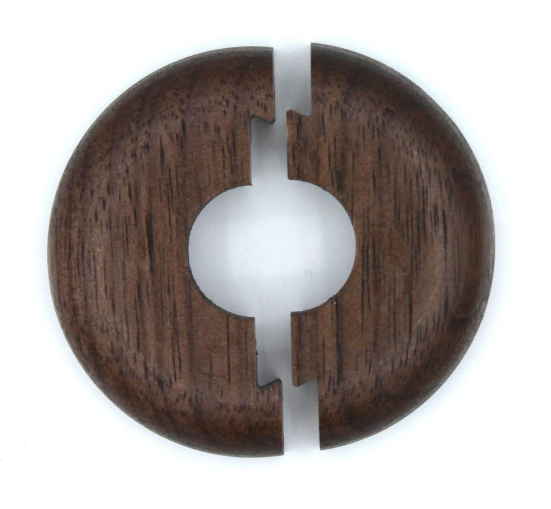 cerise bois acajou et couvercle pour tuyaux de chauffage 19 mm 22 mm ch/êne chauffage 15 mm Lot de 2 rosaces simples pour tuyaux de chauffage en bois d/érable noyer h/être