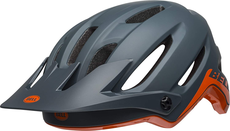BELL 4Forty MTB Fahrrad Helm grau Orange 2019