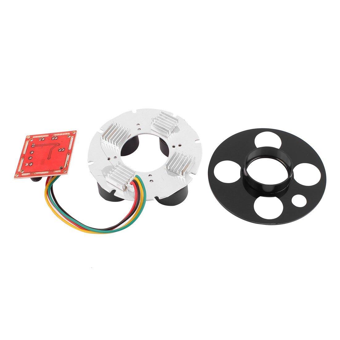 ... eDealMax matriz 4 Módulo Junta alta potencia de luz de infrarrojos IR LED Para la cámara de circuito cerrado de televisión w Cubierta: Electronics