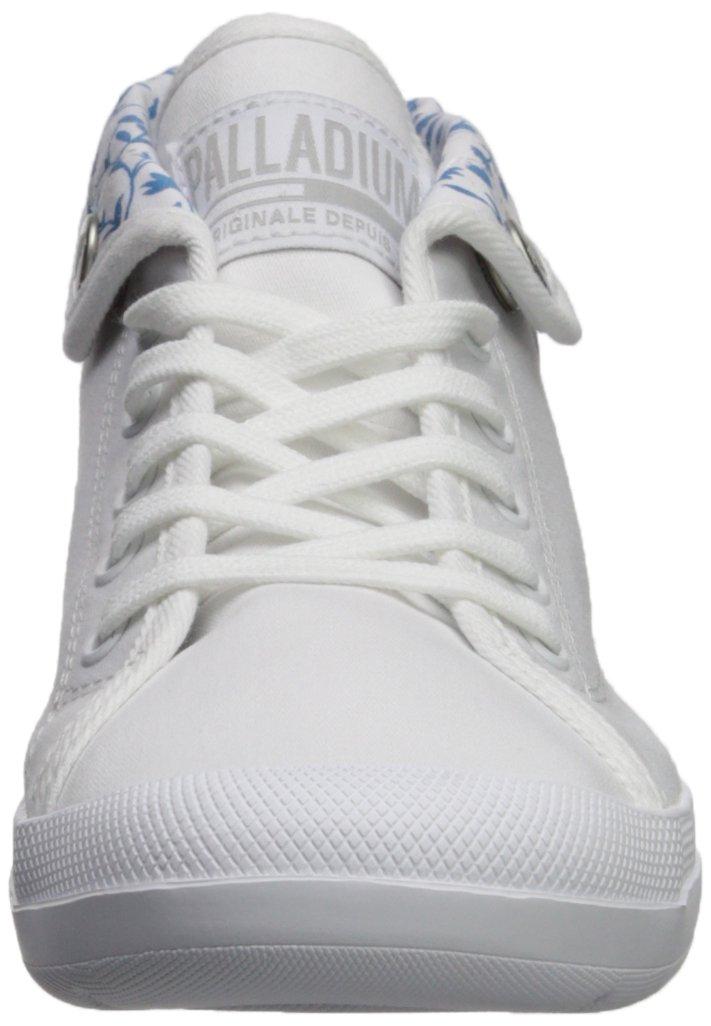 Palladium Women's Adventure CVS Sneaker B074B7WK7G 10 B(M) US|White