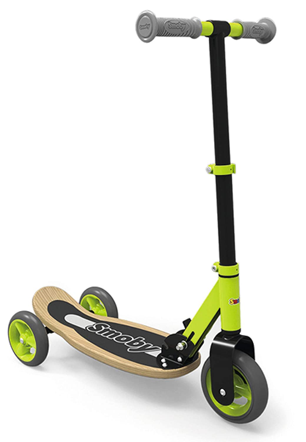 Smoby 750174 Wooden - Patinete (3 Ruedas), Color Verde ...
