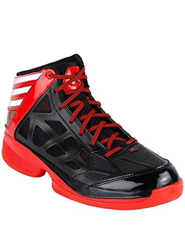 Adidas Basketball shoes, Black and red, size 13 1/2