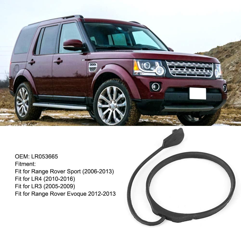 Kuuleyn Fuel Tank Cap Rope Rubber Black Fuel Tank Filler Gas Cap Rubber Rope Fit For Range Rover Sport Evoque LR053665