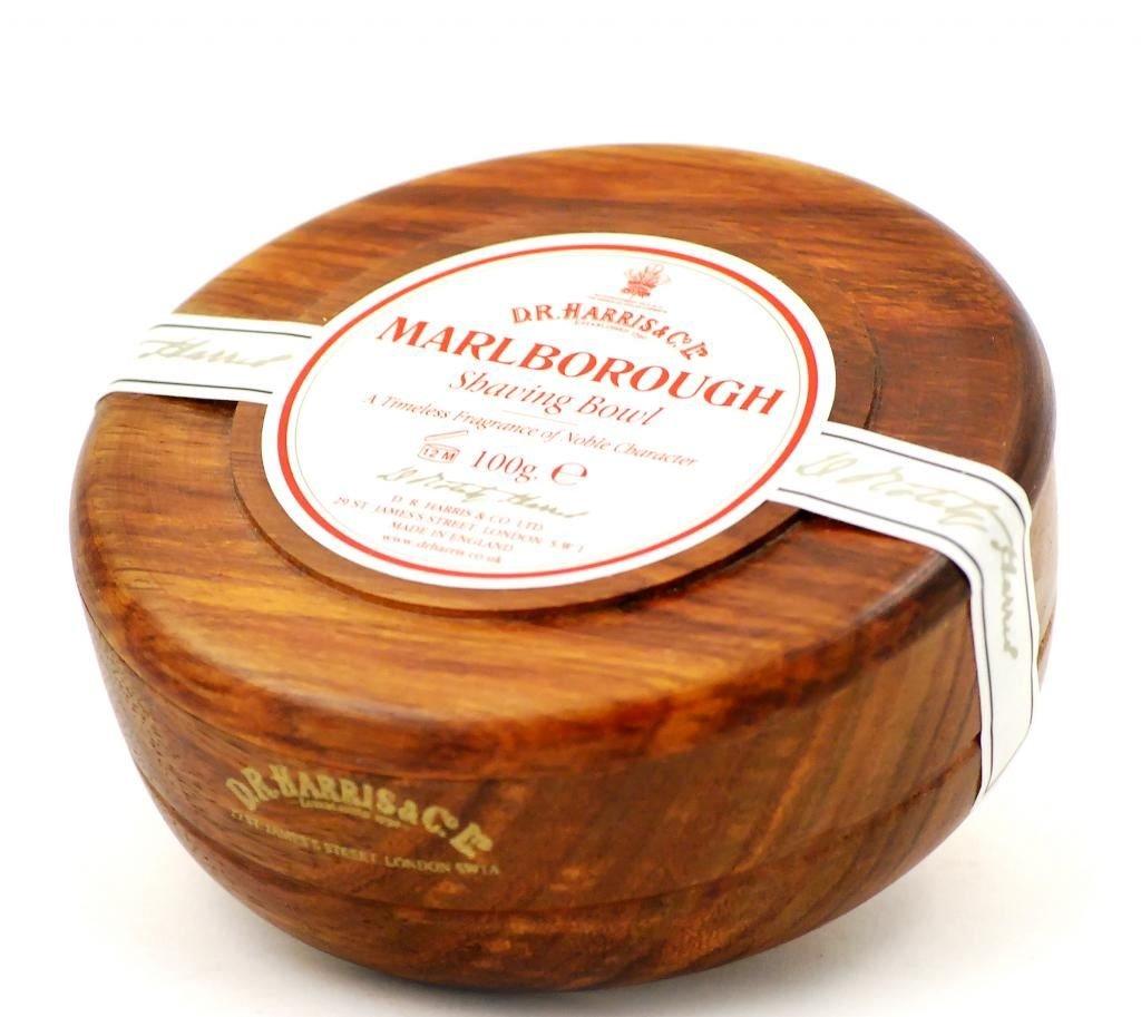 DR Harris & Co Marlborough Shaving Soap with Cedar and Sandalwood in Mahogany Bowl D.R.Harris & Co 30103
