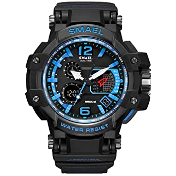 Analog Uhren Herren Wasserdicht Armbanduhr Amstt Sportuhr Digital tCoQxBsrdh