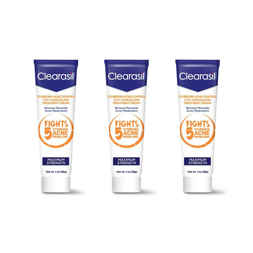Clearasil Stubborn Acne Control 5in1 Spot Treatment Cream, 1 oz. Raspberry Vanilla DIY Body Scrub Kit
