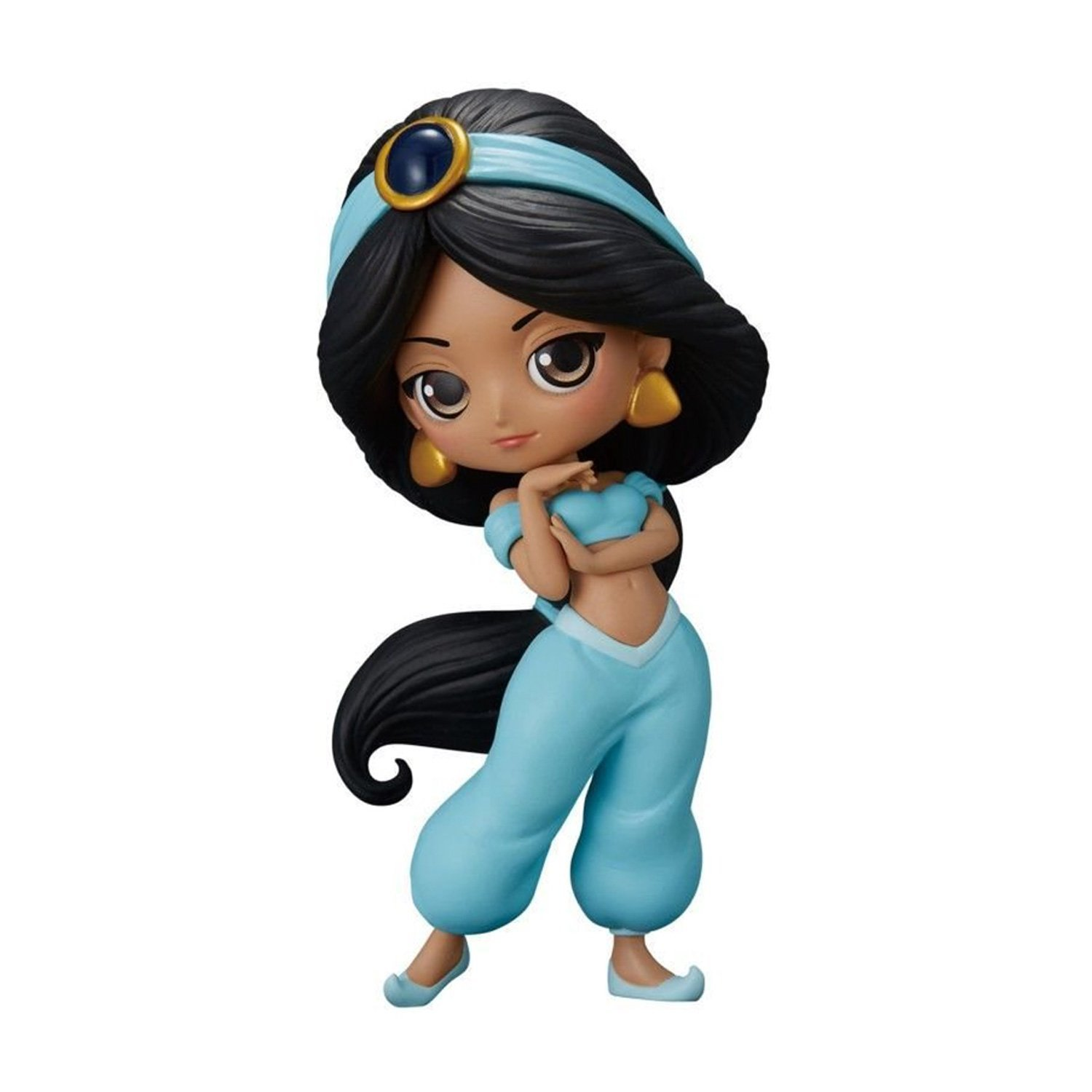FIGURINE de Collection JASMINE Aladdin 14cm NORMAL COLOR Version - Serie QPOSKET Banpresto DISNEY Characters DISNEY Banpresto
