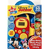 Disney Junior Sing with Me Sing-Along Music Player and 8-Book Library