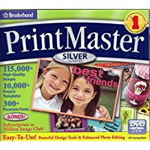 Print Master 17 Silver with 300 fonts & 115k Images