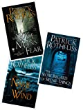 3 Book Set of The Kingkiller Chronicle Series (The Name of the Wind, Wise Man's Fear and The Slow Regard of Silent…