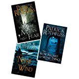 The Kingkiller Chronicle Series 3 Books Collection Set by Patrick Rothfuss (The Name of the Wind, The Wise Man's Fear & The S