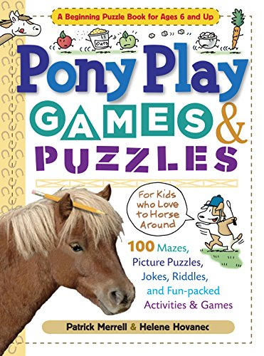 (Pony Play Games & Puzzles (Storey's Games &)