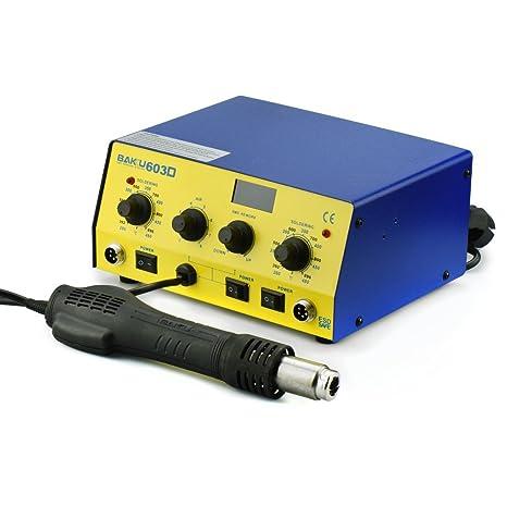 Herramientas Mantenimiento estación soldadura Aire Caliente 150 – 450 °C bk-603d 3 in