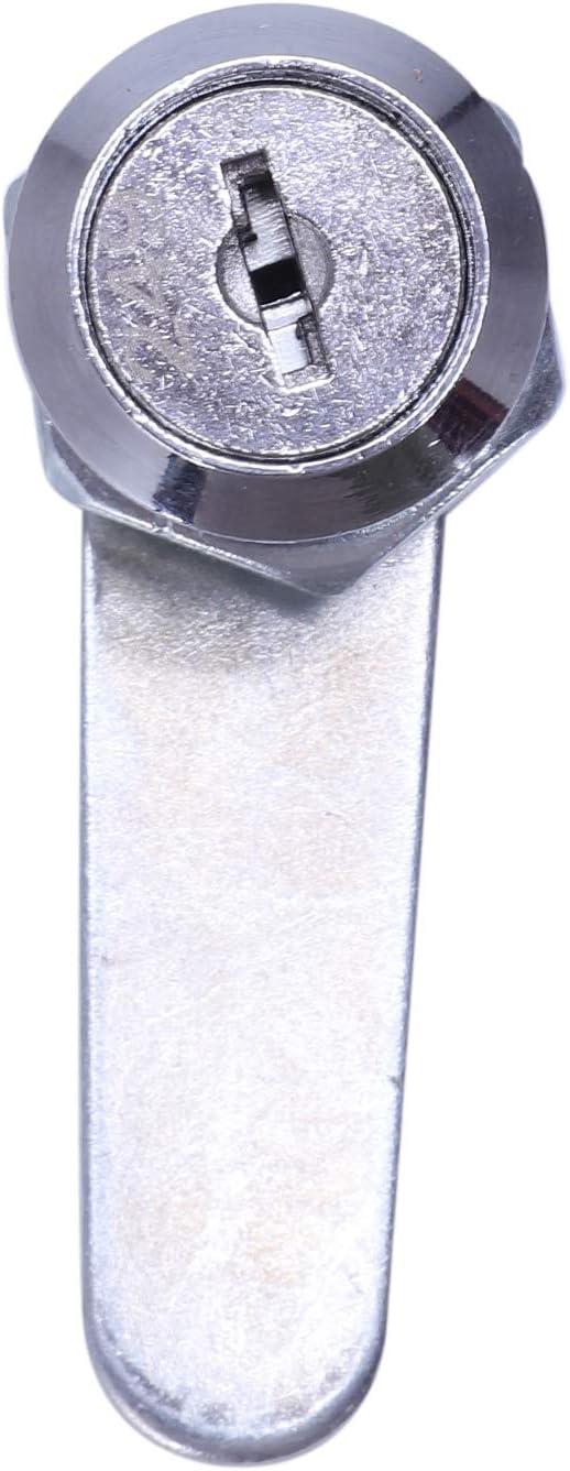HLPIGF Bloqueo de Buzon Cerradura de los muebles Bloqueo de Gabinete 22x20mm con 2 llaves NUEVO