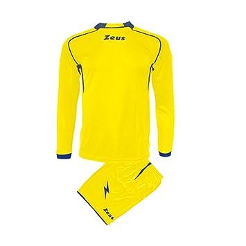 Kit Spart Zeus completo body Fútbol Fútbol Camiseta y Pantalón Corto Sport, Unisex adulto Hombre