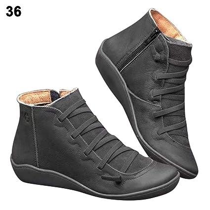 riche et magnifique choisir authentique liquidation à chaud 2020 New Arch Support Boots pour femmes, Bloomma Arch Support Bottines  Chaussures, Bottillons confortables à talon plat avec boucle à glissière