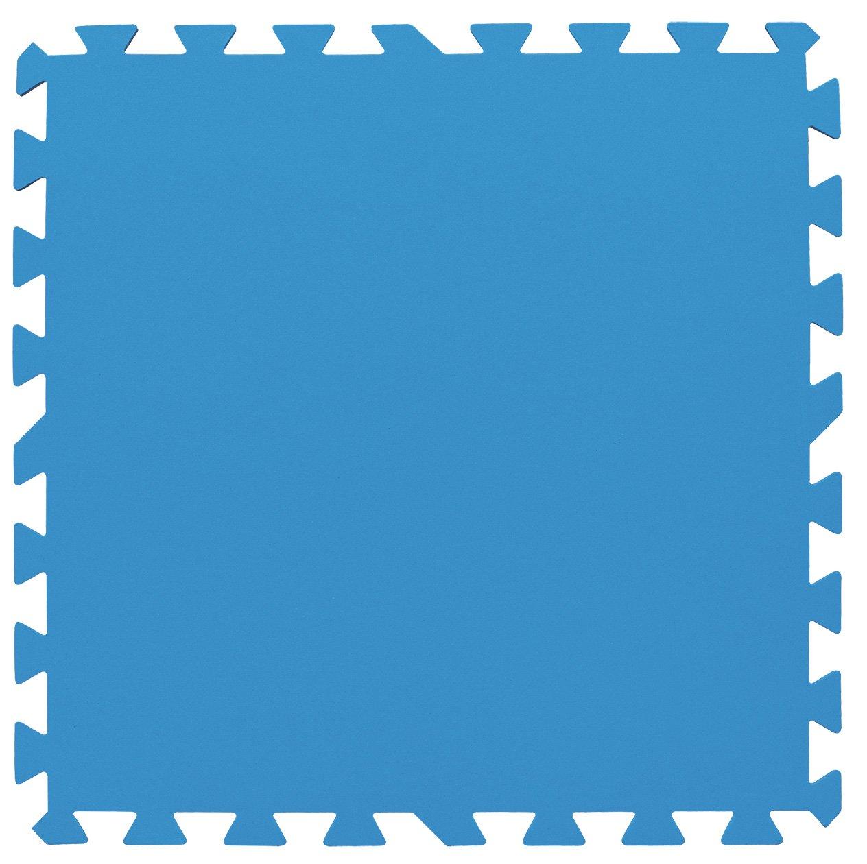 Bestway Pool Bodenschutzfliesen-Set 8 Stück 50x50x0,4cm, blau ...