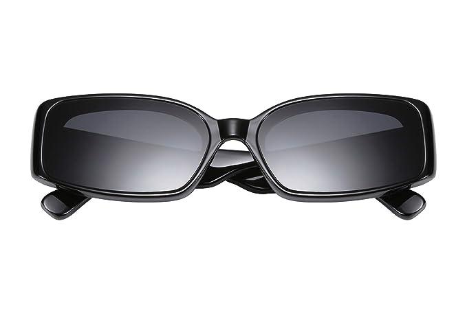 Amazon.com: FEISEDY Creativo Rectángulo Gafas de sol de las ...