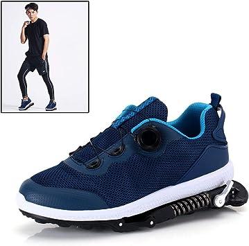 Grist CC Zapatillas Deportivas de Aire para Correr con Amortiguador de muelles,Zapatillas de Deporte para Correr Unisex Gym Fitness Ligero, Azul,1: Amazon.es: Deportes y aire libre