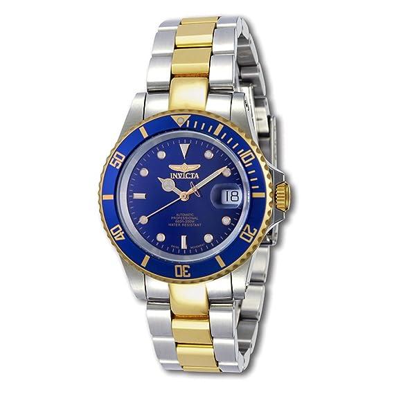 Invicta 9938C Two Tone Swiss Automatic Diver with Coin Edge Bezel: Invicta: Amazon.es: Relojes