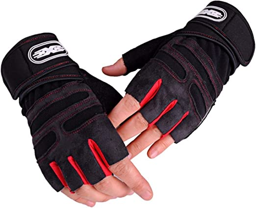 Weight Lifting Training Gym Gloves Workout Bodybuilding Fitness Cycling Mittens