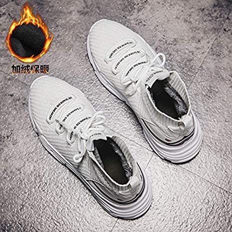 Eaglers Shark Sneakers Women Men High Top Breathable Winter Warm Flats Platform Women Shoes with Fur Unisex Footwear Casual Shoes Women