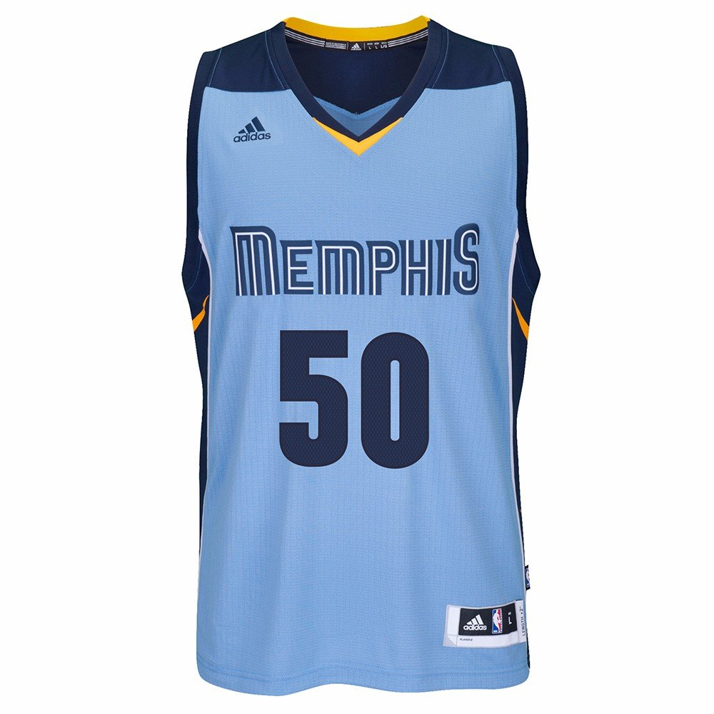 4aacc832c6eb Amazon.com   adidas Zach Randolph Memphis Grizzlies NBA Blue Official  Climacool Away Road Swingman Jersey Men   Sports   Outdoors