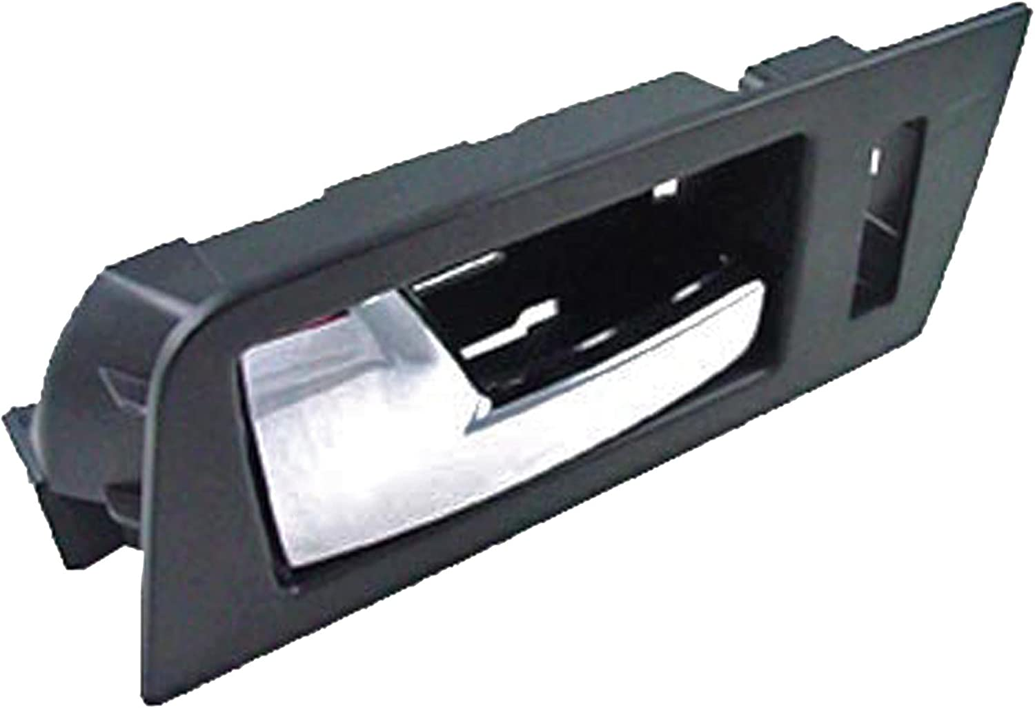 Dorman 81777 Front Driver Side Interior Door Handle for Select Ford Models Black and Chrome