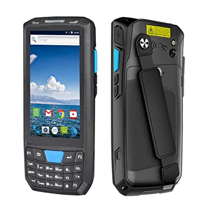 Android Handheld Pos Terminal MUNBYN with Honeywell 1D Laser Barcode  Scanner Support Wireless WiFi 4G BT for Warehouse Express Delivery Shipping  to