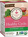 Traditional Medicinals, Healthy Cycle Raspberry Leaf Tea, 16 Tea Bags (pack of 6)
