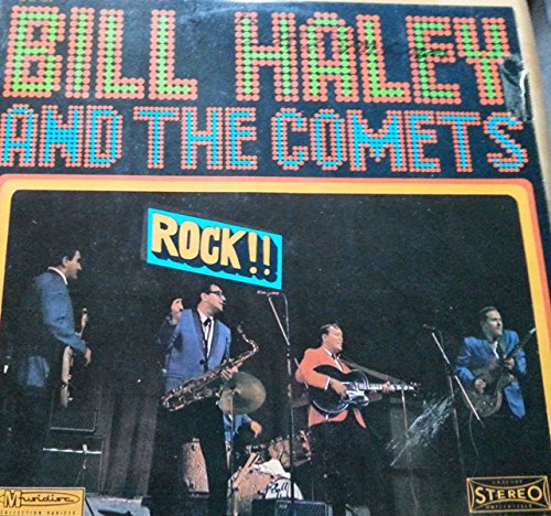 Price comparison product image Bill Haley & Comets ~ Rock Around The Clock LP Vinyl Record (65614)