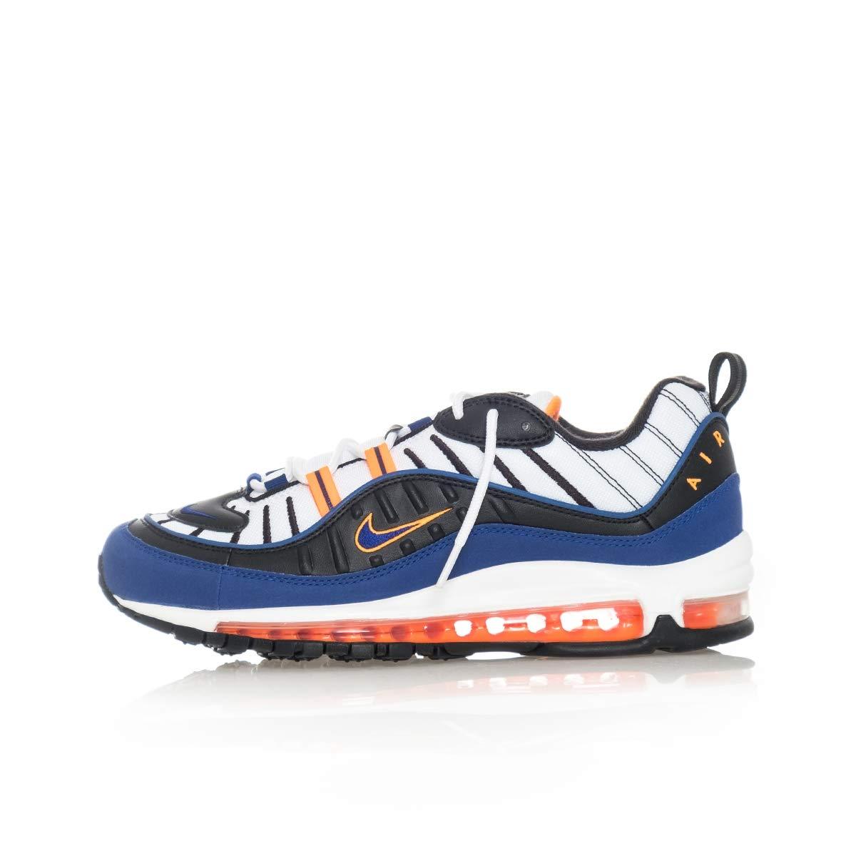 Vit - djup Royale blå Nike skor herrar AIR MAX 98 CD1536.100