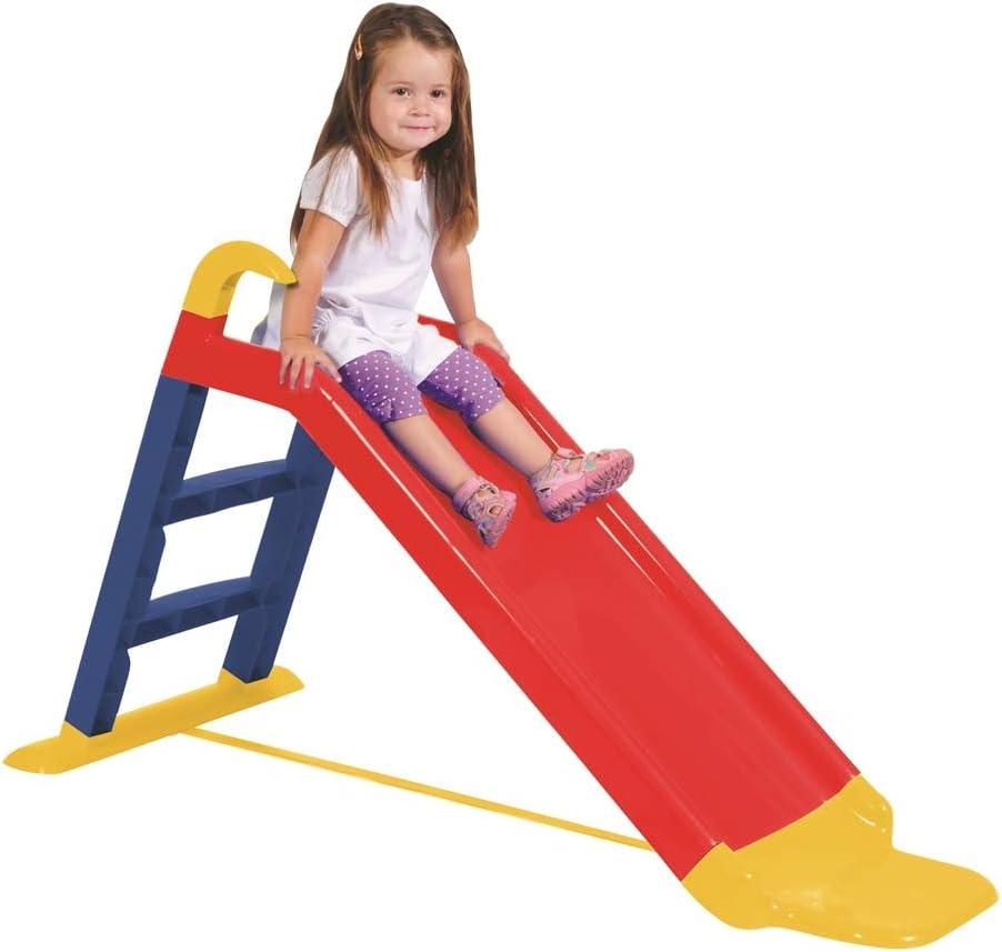 KitGarden - Tobogán Infantil, 141x60x78,5cm, Multicolor, Children Slide