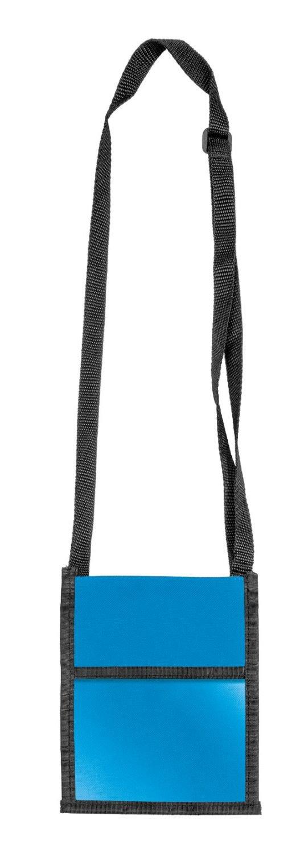 Veloflex 7200351 - Brustbeutel Velocolor, 13.5 x 17.5 cm, blau