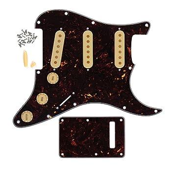 Schwarzer Kunststoff 2 Loch Rückenplatte Trem Cavity Cover für E Gitarre