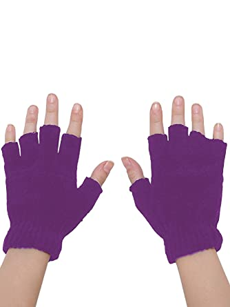 bdbd73421 Shopolica Finger Cut Gloves For Winter/Men/Women/Girls/Unisex/Warm ...