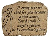 Carson Home Accents Angel's Garden Remembrance Stone