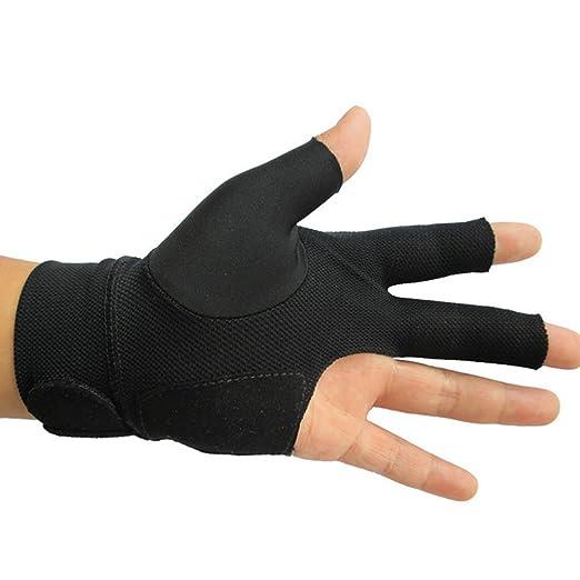 3 Finger Billard Handschuh Snooker Warteschlange Schütze Handschuh Für Billard