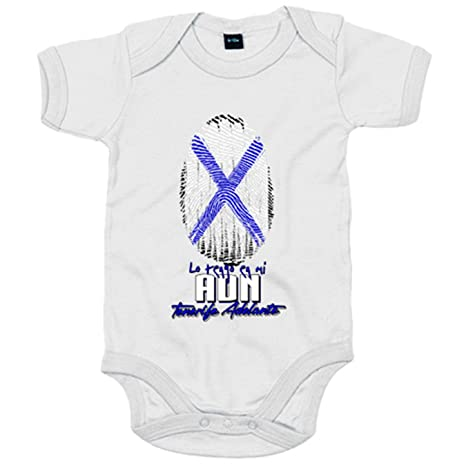 Body bebé lo tengo en mi ADN Tenerife fútbol - Blanco, 6-12 ...