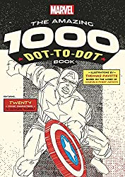 Marvel: The Amazing 1000 Dot-to-Dot Book