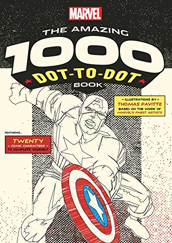 Marvel: The Amazing 1000 Dot-to-Dot -