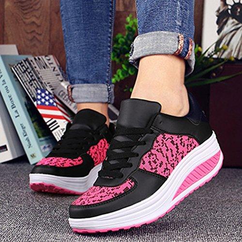 43 à JRenok Chaussures Rose Baskets de Confort Antidérapante 5xn7waA
